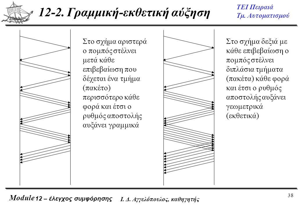 12-2. Γραμμική-εκθετική αύξηση