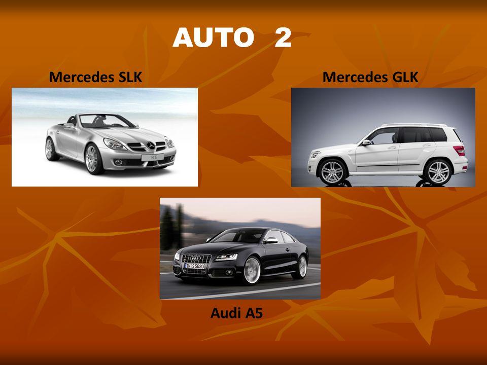 AUTO 2 Mercedes SLK Mercedes GLK Audi A5