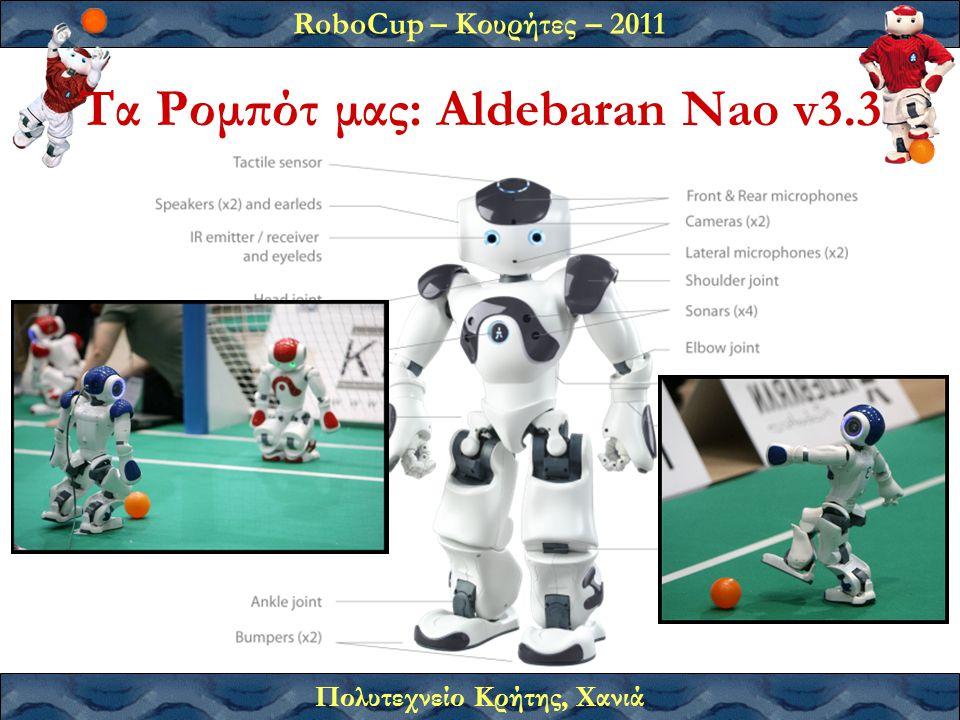 Τα Ρομπότ μας: Aldebaran Nao v3.3