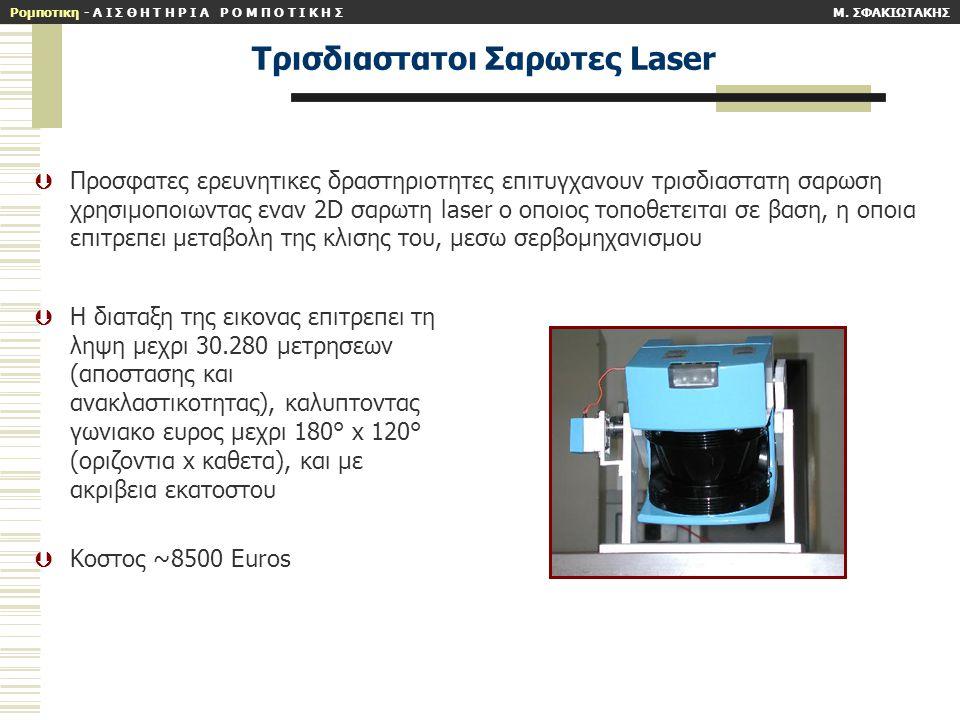 Tρισδιαστατοι Σαρωτες Laser