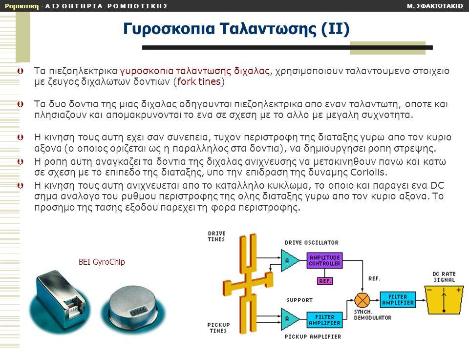 Γυροσκοπια Ταλαντωσης (ΙΙ)