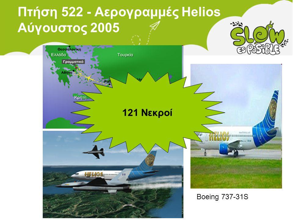 Πτήση 522 - Αερογραμμές Helios Αύγουστος 2005