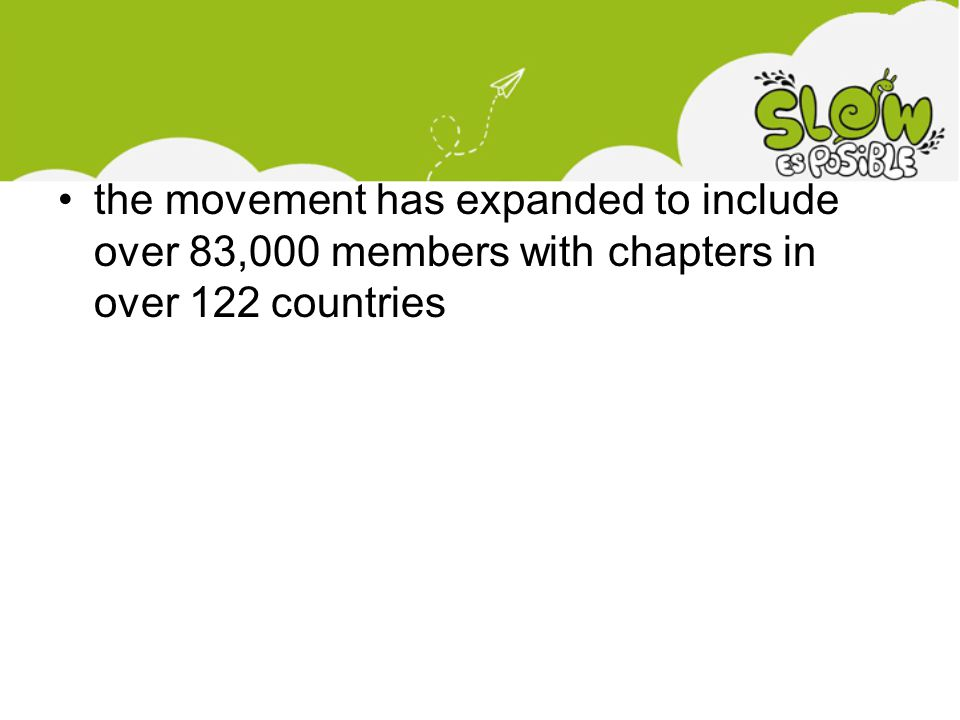 the movement has expanded to include over 83,000 members with chapters in over 122 countries