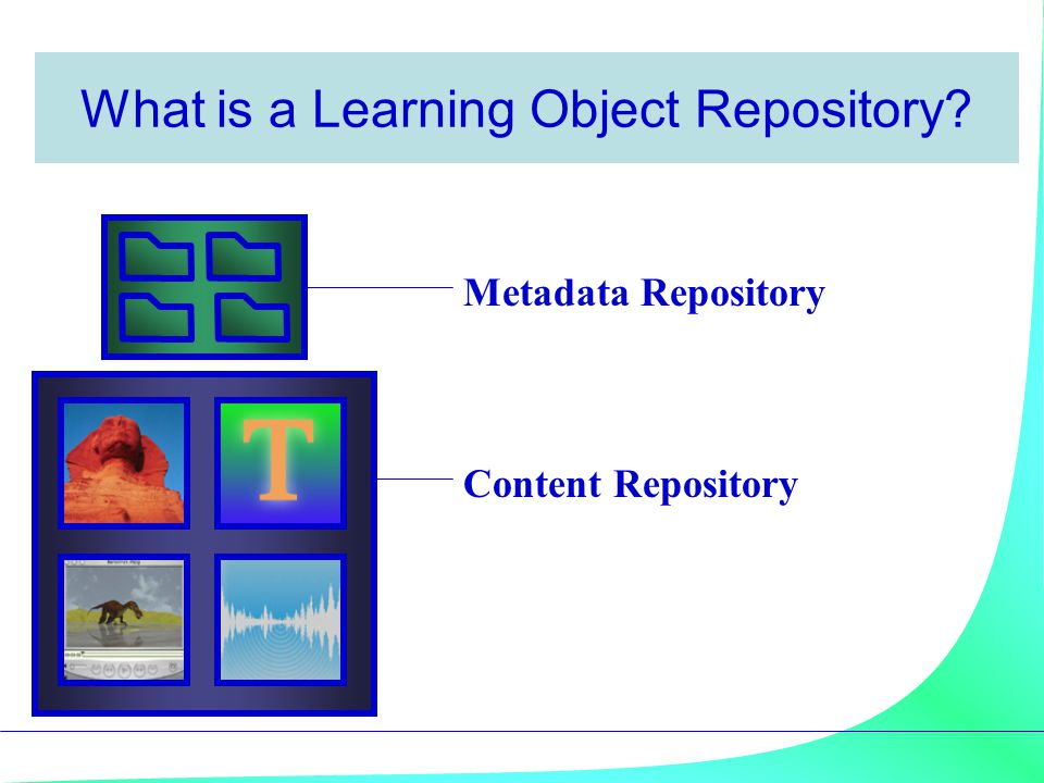 What is a Learning Object Repository
