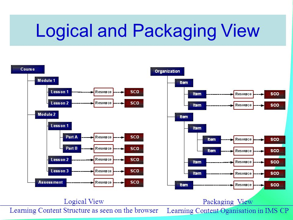 Logical and Packaging View