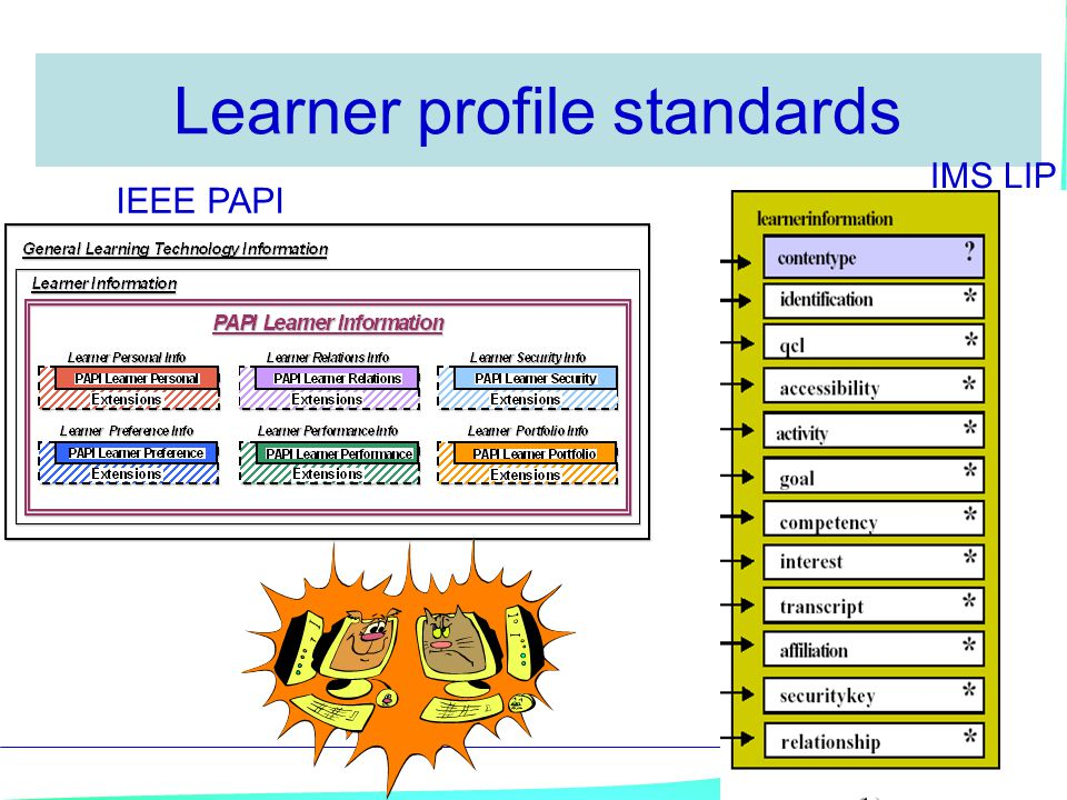 Learner profile standards