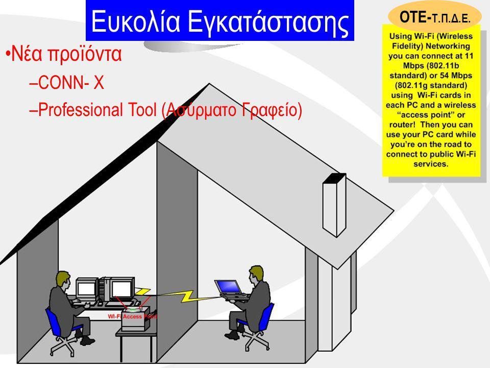 Ευκολία Εγκατάστασης Νέα προϊόντα CONN- X
