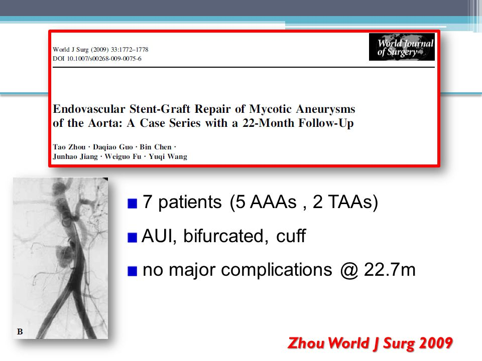 no major complications @ 22.7m