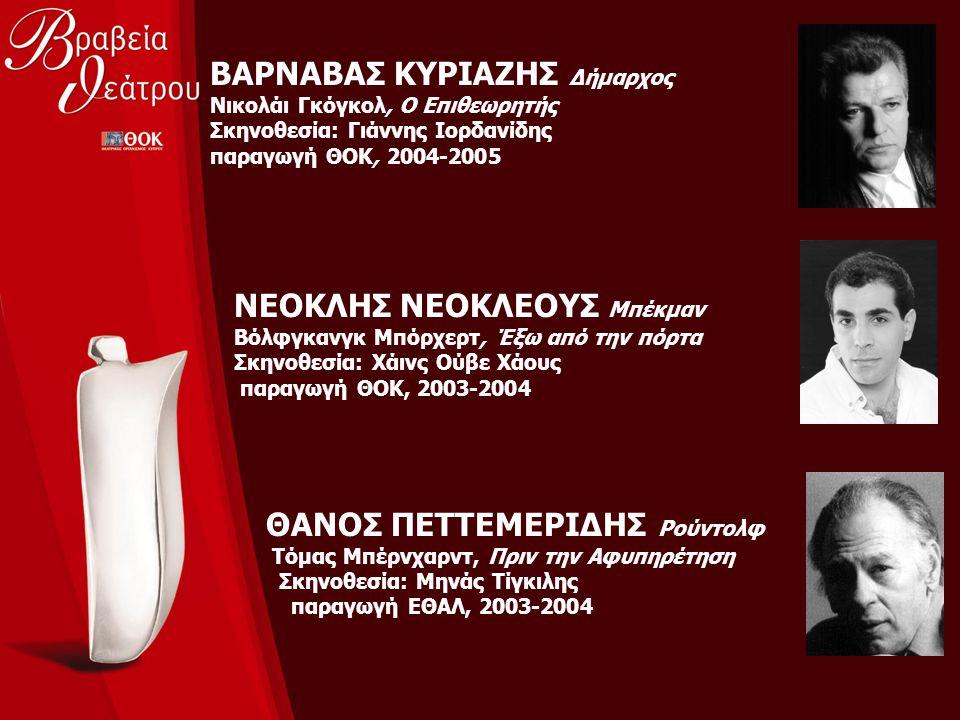 ΒΑΡΝΑΒΑΣ ΚΥΡΙΑΖΗΣ Δήμαρχος Νικολάι Γκόγκολ, Ο Επιθεωρητής