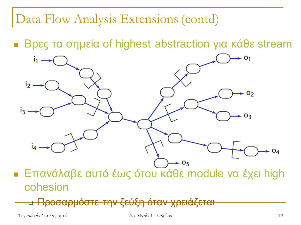 Data Flow Analysis Extensions (contd)