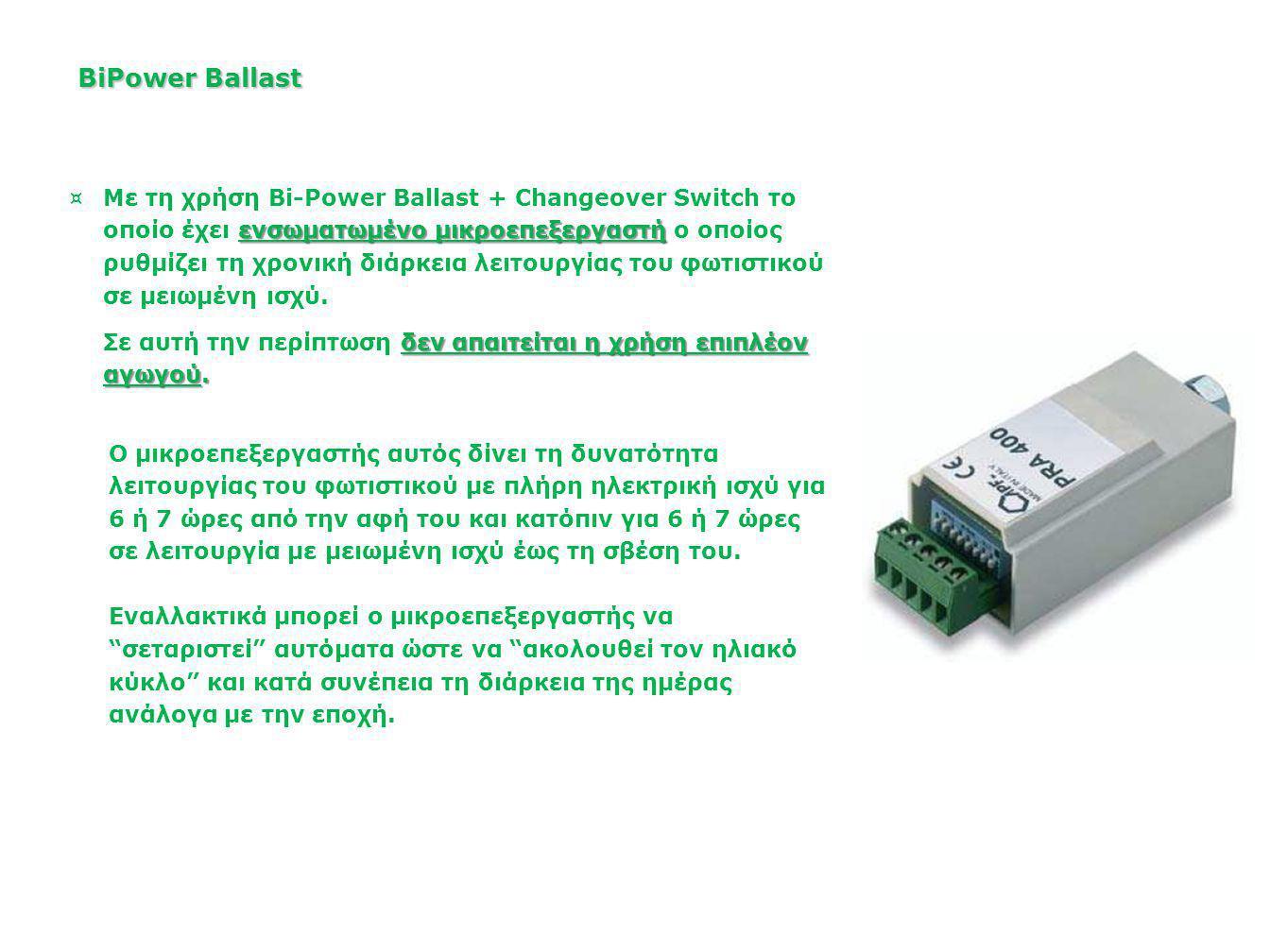 BiPower Ballast