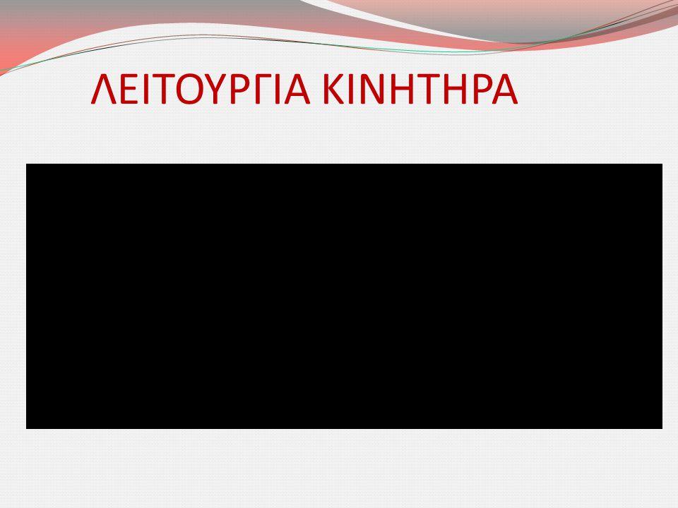 ΛΕΙΤΟΥΡΓΙΑ ΚΙΝΗΤΗΡΑ