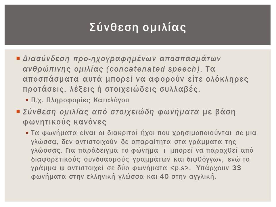 Σύνθεση ομιλίας