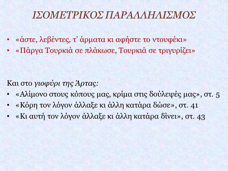 ΙΣΟΜΕΤΡΙΚΟΣ ΠΑΡΑΛΛΗΛΙΣΜΟΣ