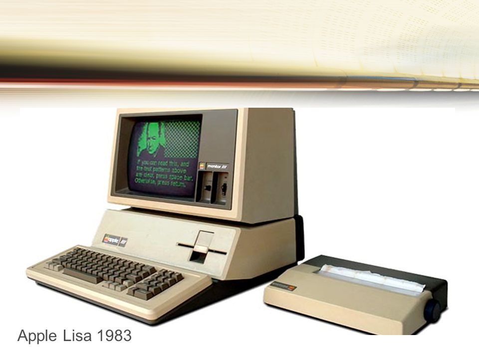 Apple Lisa 1983
