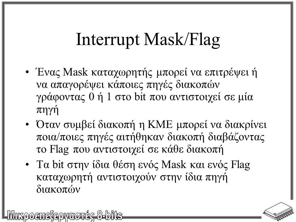 Interrupt Mask/Flag