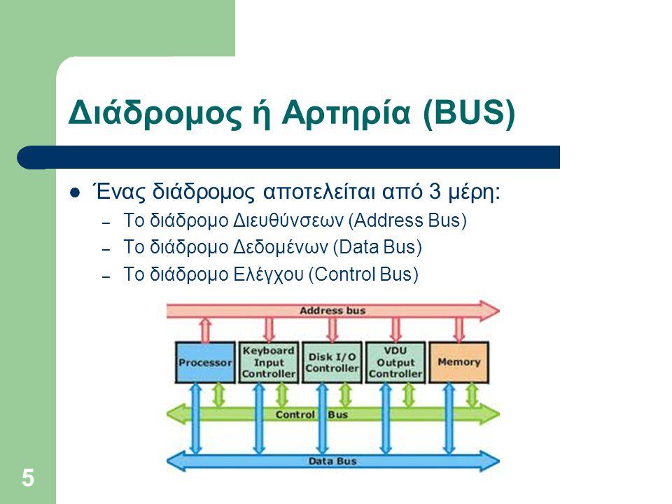 Διάδρομος ή Αρτηρία (BUS)