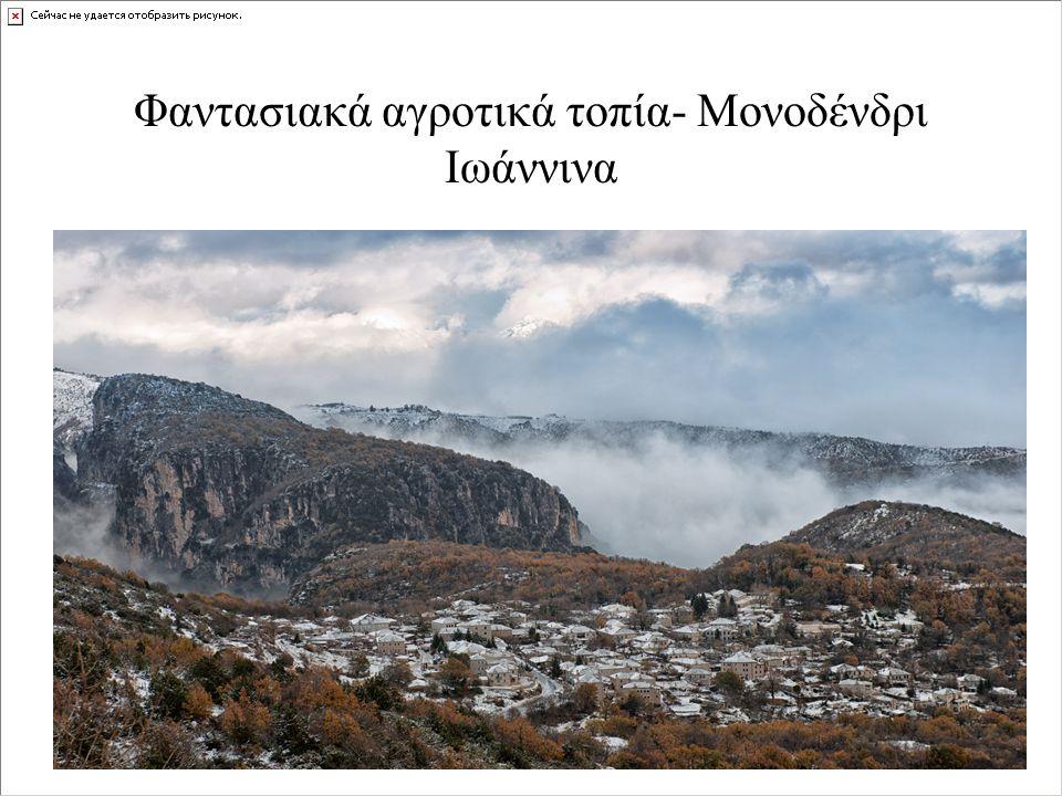 Φαντασιακά αγροτικά τοπία- Μονοδένδρι Ιωάννινα