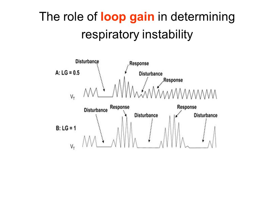The role of loop gain in determining respiratory instability