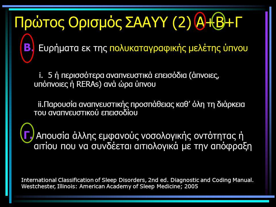 Πρώτος Ορισμός ΣΑΑΥΥ (2) Α+Β+Γ