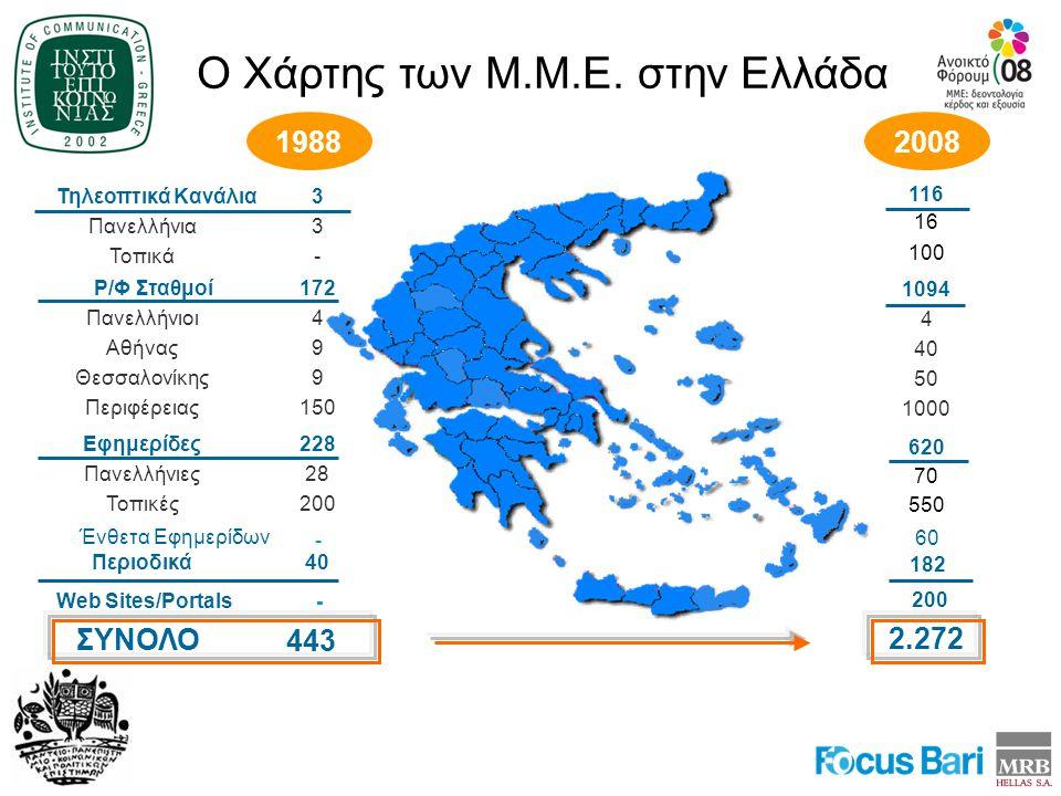 Ο Χάρτης των Μ.Μ.Ε. στην Ελλάδα