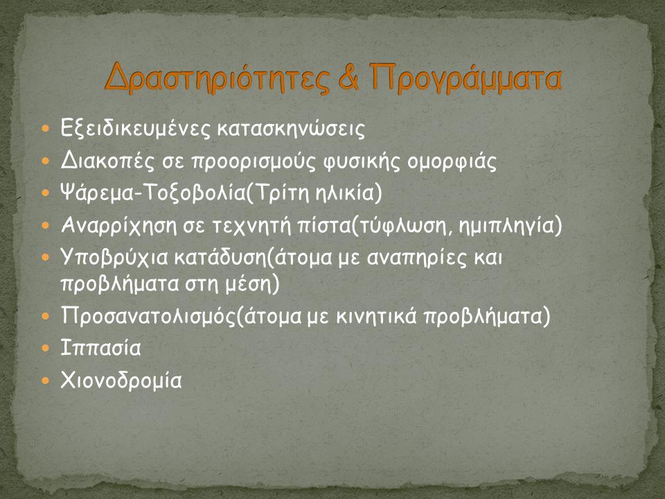 Δραστηριότητες & Προγράμματα