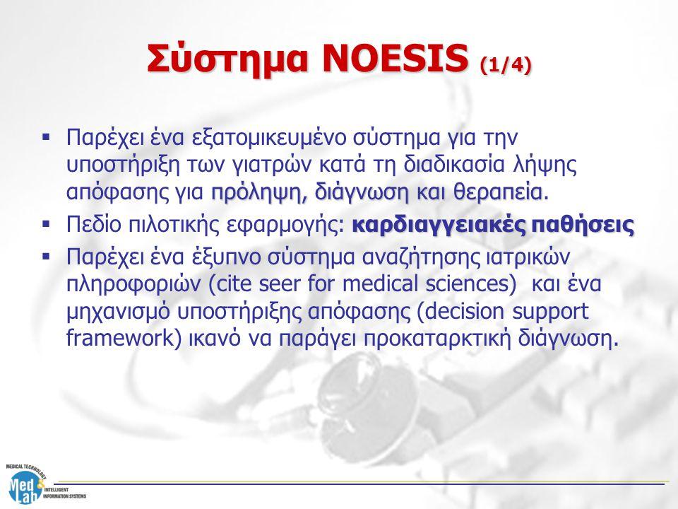 Σύστημα NOESIS (1/4)