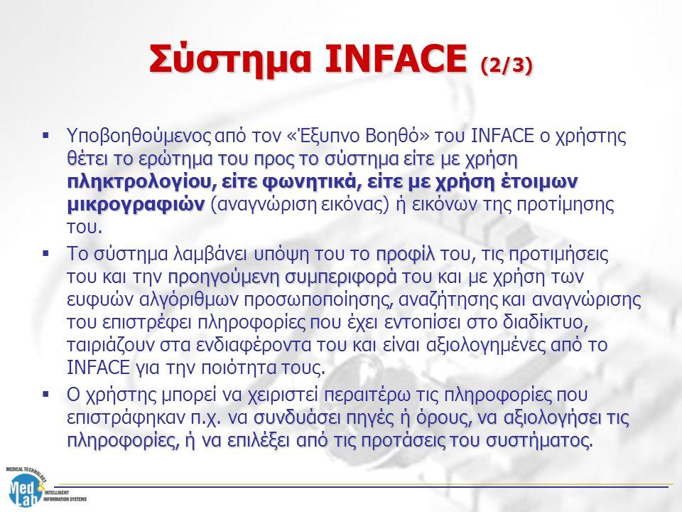 Σύστημα INFACE (2/3)