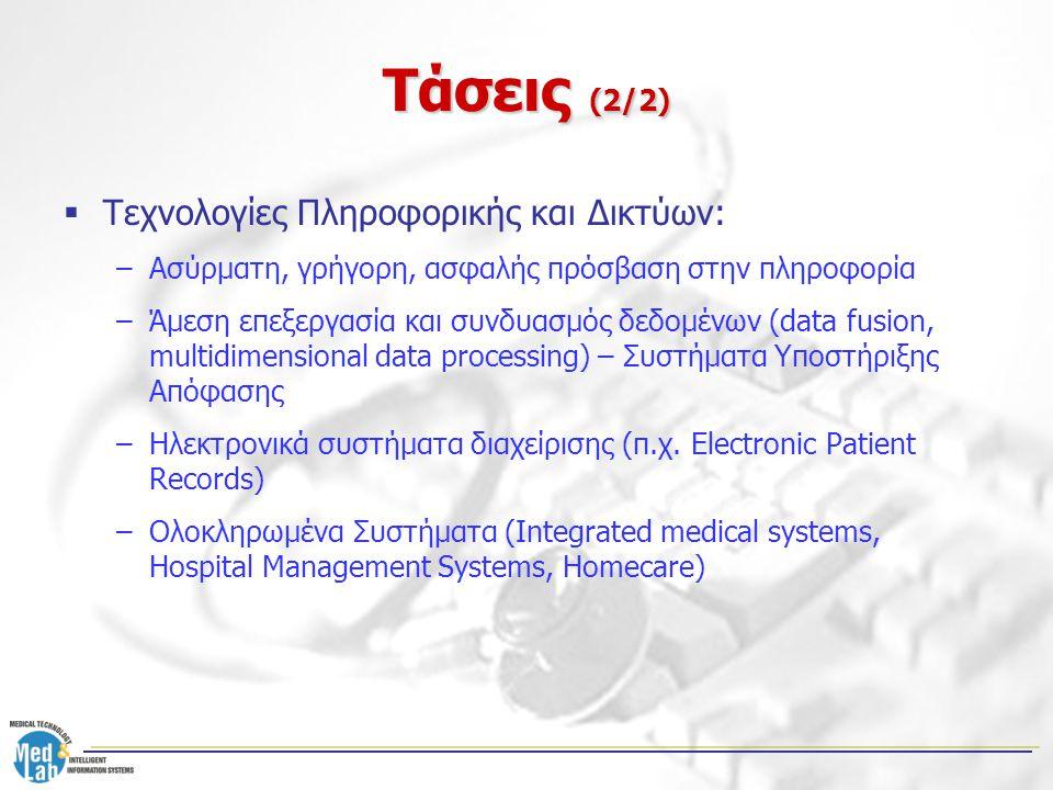 Τάσεις (2/2) Τεχνολογίες Πληροφορικής και Δικτύων: