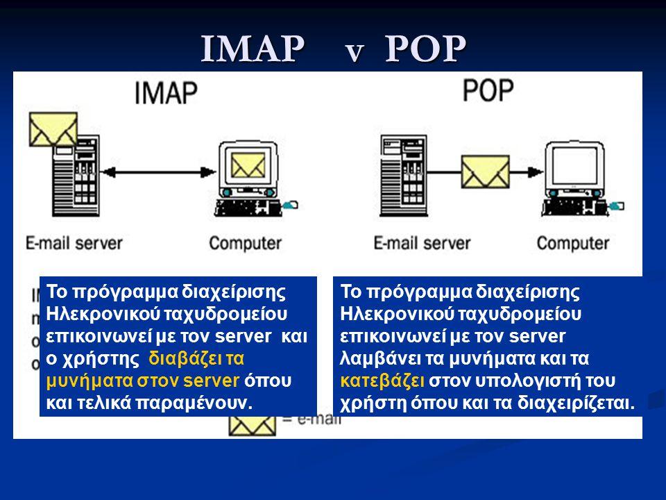 IMAP v POP