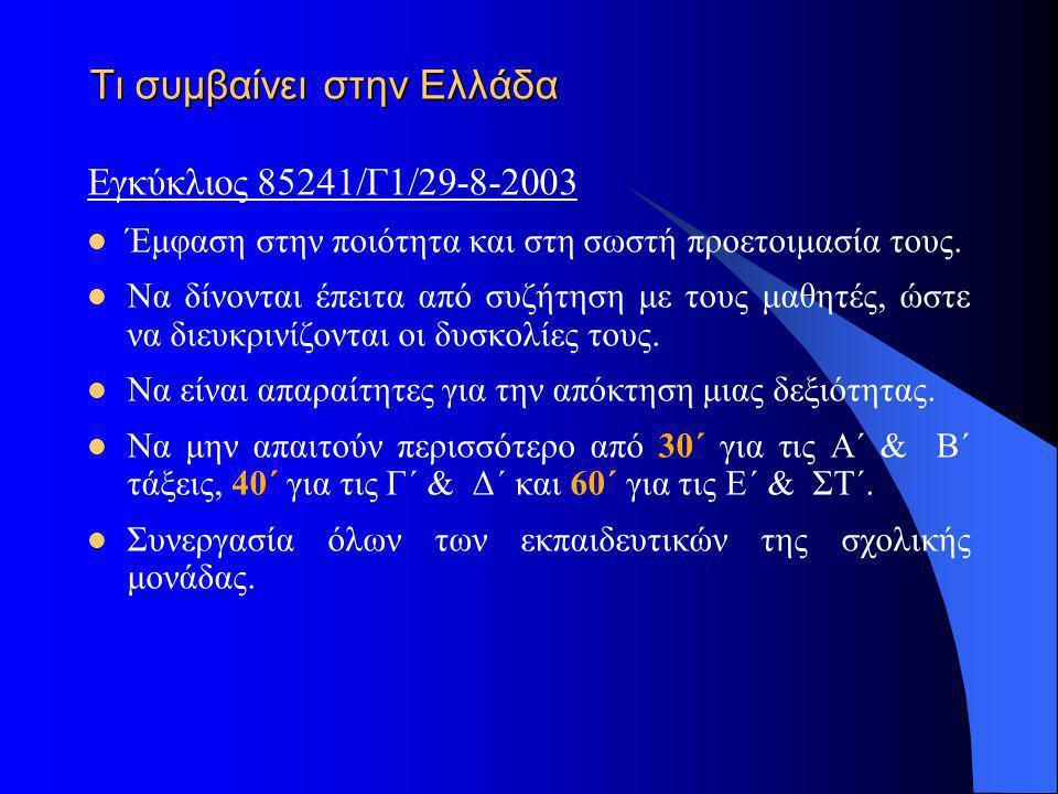 Τι συμβαίνει στην Ελλάδα