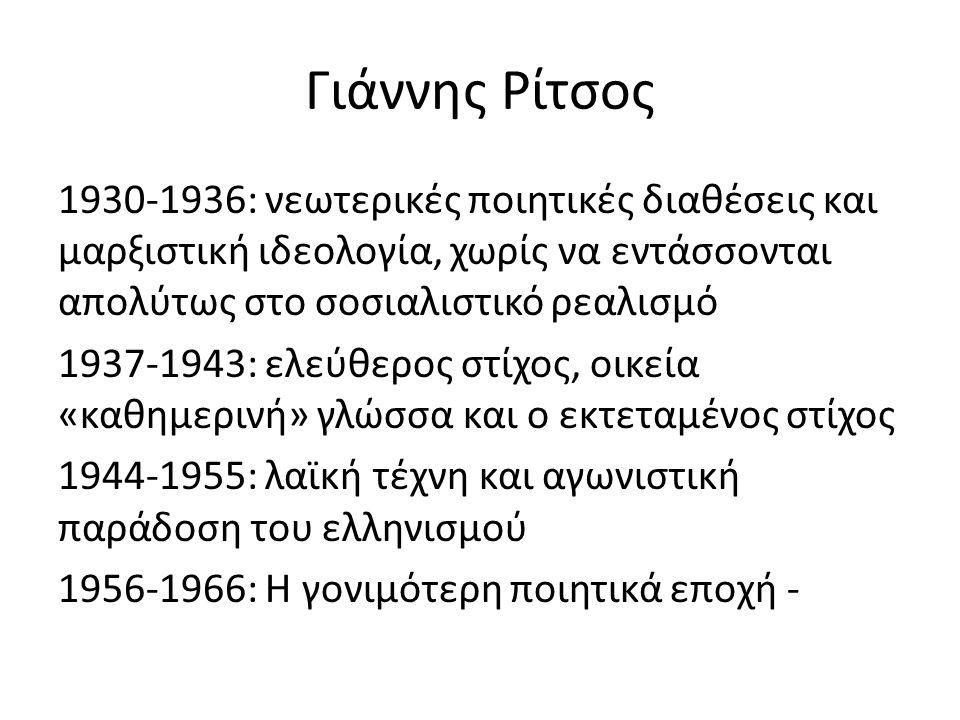 Γιάννης Ρίτσος
