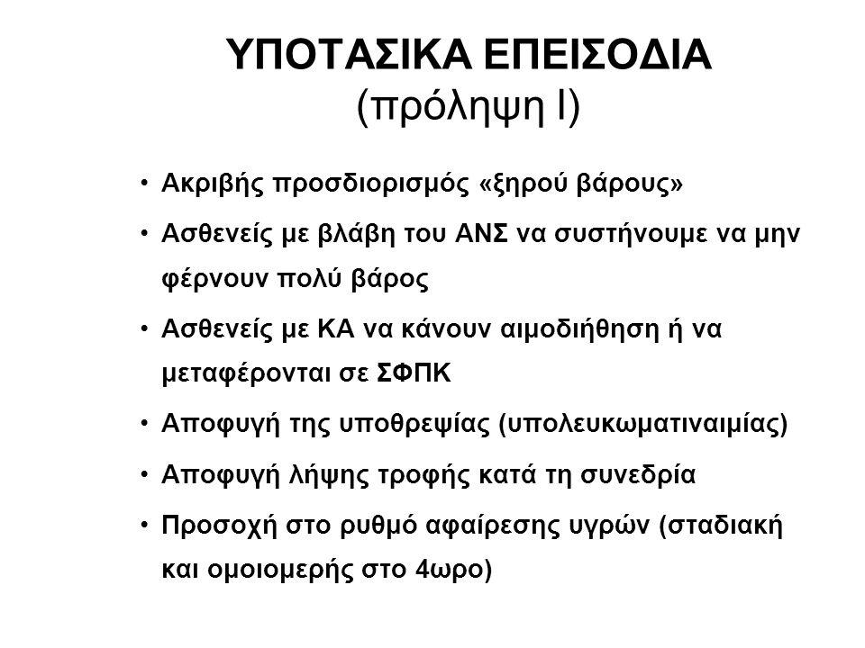 ΥΠΟΤΑΣΙΚΑ ΕΠΕΙΣΟΔΙΑ (πρόληψη Ι)