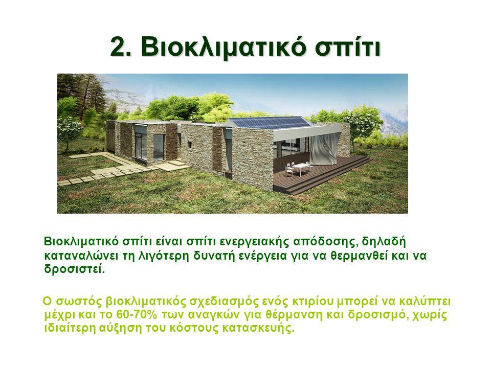 2. Βιοκλιματικό σπίτι