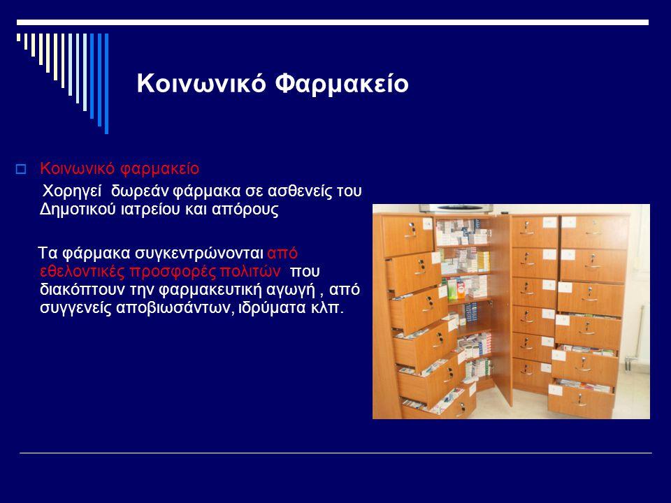 Κοινωνικό Φαρμακείο Κοινωνικό φαρμακείο