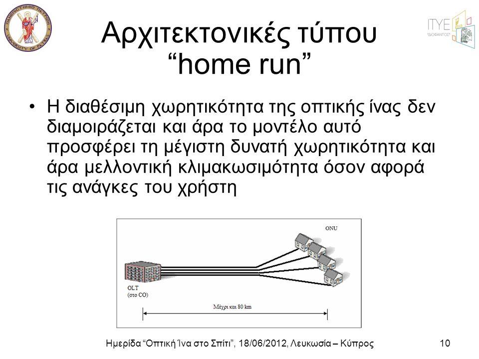Αρχιτεκτονικές τύπου home run