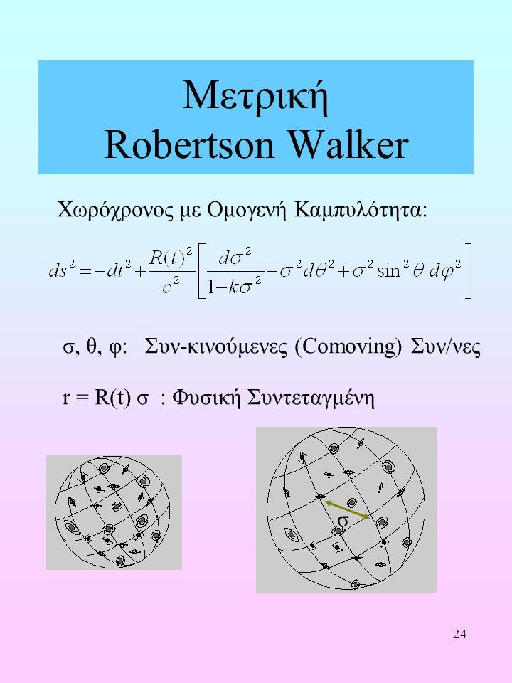 Μετρική Robertson Walker