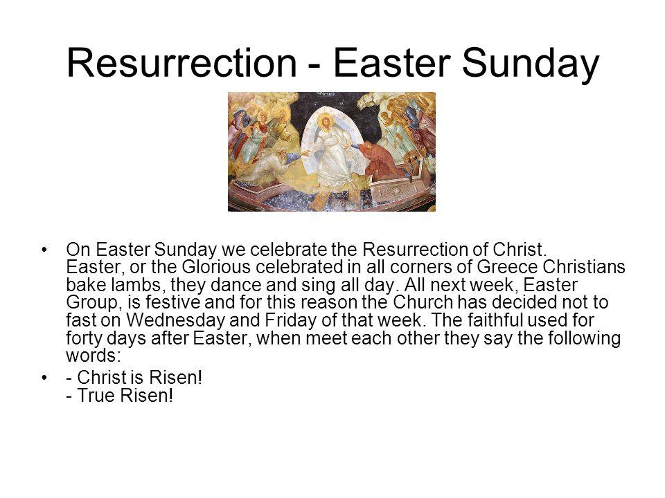 Resurrection - Easter Sunday