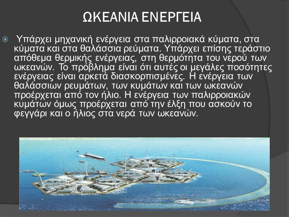 ΩΚΕΑΝΙΑ ΕΝΕΡΓΕΙΑ