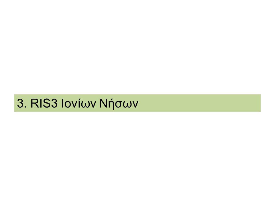 3. RIS3 Ιονίων Νήσων