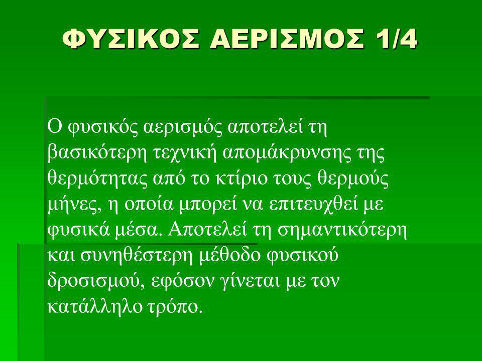 ΦΥΣΙΚΟΣ ΑΕΡΙΣΜΟΣ 1/4