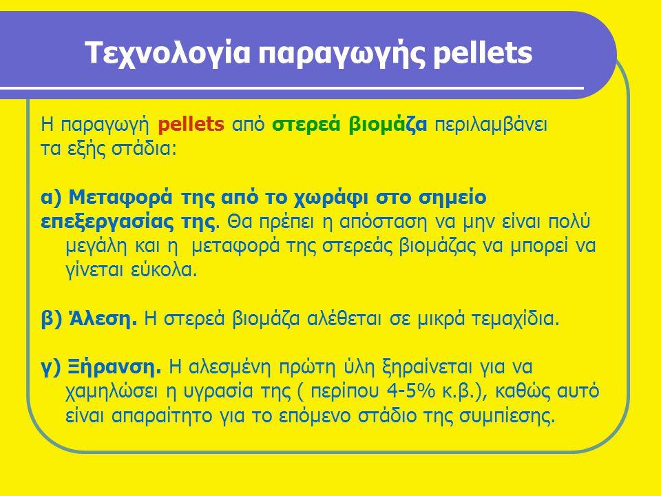 Τεχνολογία παραγωγής pellets