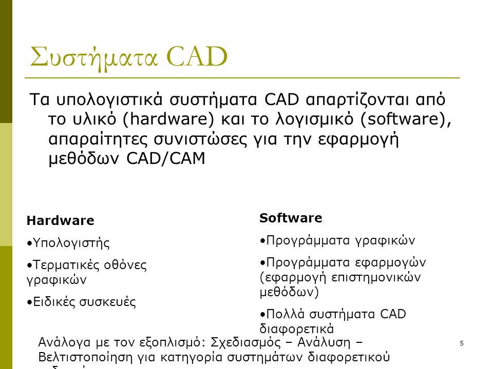 Συστήματα CAD