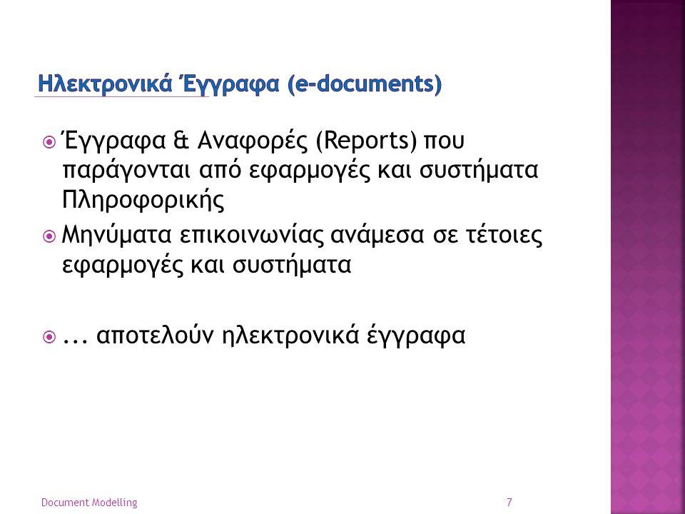Ηλεκτρονικά Έγγραφα (e-documents)