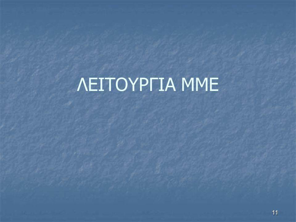 ΛΕΙΤΟΥΡΓΙΑ ΜΜΕ