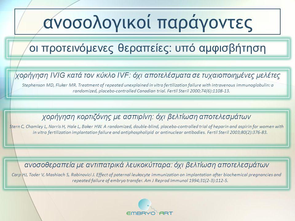 ανοσολογικοί παράγοντες