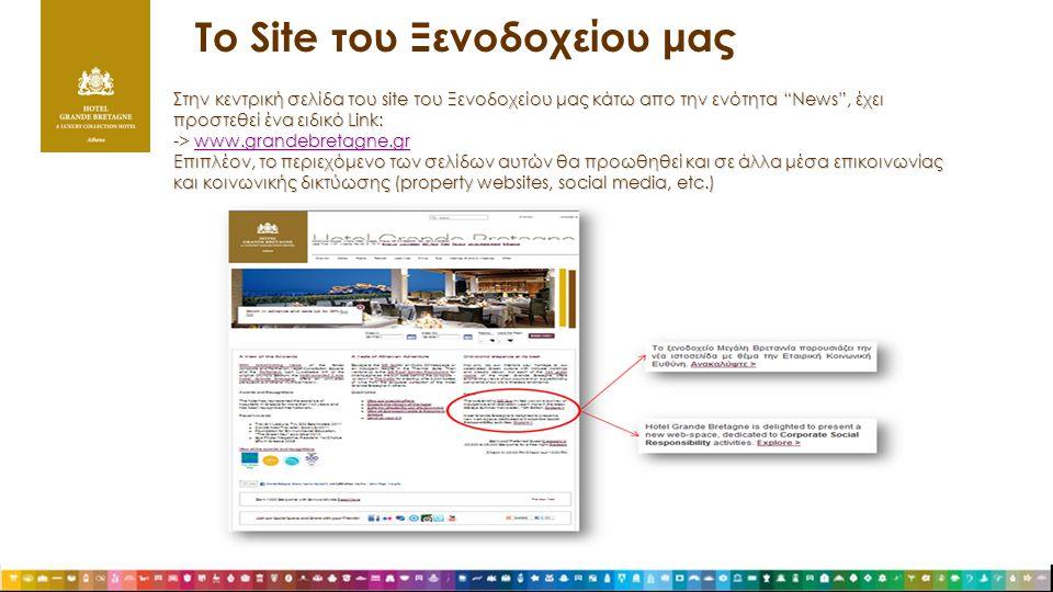 Το Site του Ξενοδοχείου μας