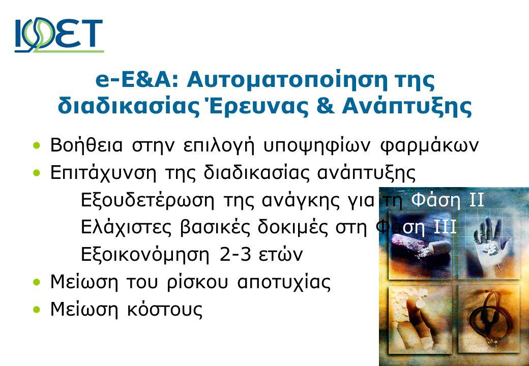 e-E&A: Αυτοματοποίηση της διαδικασίας Έρευνας & Ανάπτυξης