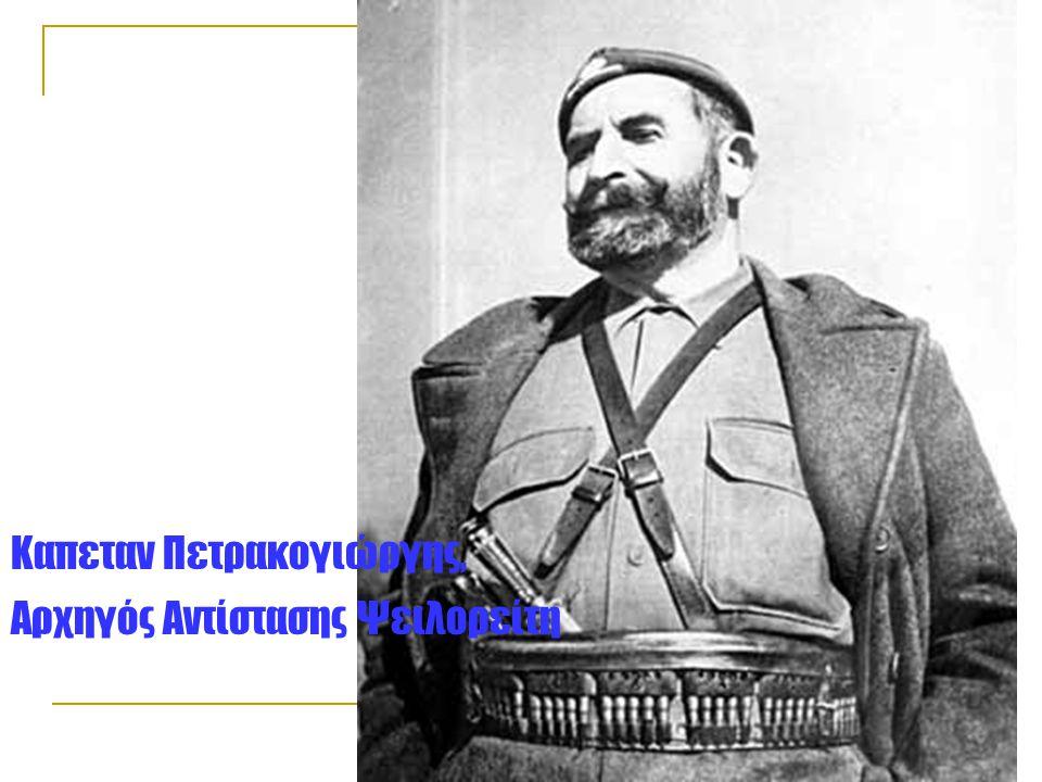 Καπεταν Πετρακογιώργης, Αρχηγός Αντίστασης Ψειλορείτη