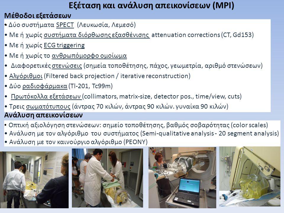 Εξέταση και ανάλυση απεικονίσεων (MPI)